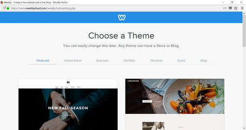 Building Your Website with Weebly