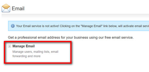 Creating Free Email Account for Your Domain